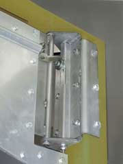 Industrial Flexible Swinging Door for Fork Lift Traffic.