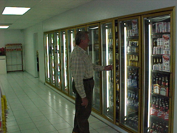 Glass Doors for Display Coolers, Walk-in Coolers