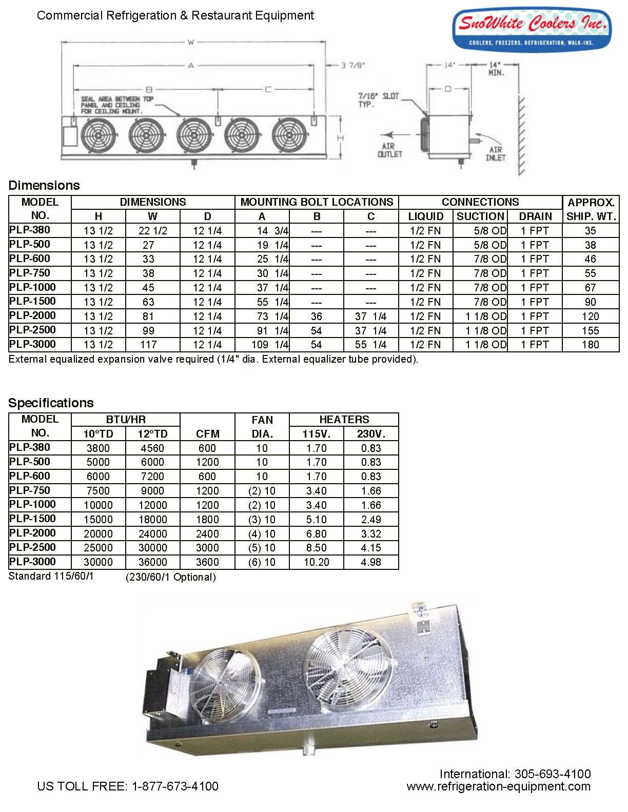 evaporator PLP
