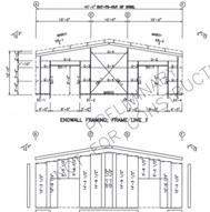 STEEL BUILDING 40ft x 50ft x 12ft