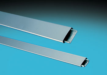 SATINLESS STEEL FLAT SNAP-ON MOULDING