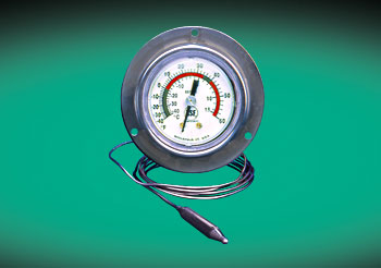 SURFACE MOUNT REFRIGERATOR/FREEZER THERMOMETER
