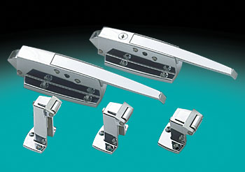 Walk-in Latch, W19 SERIES CHROME FINISH