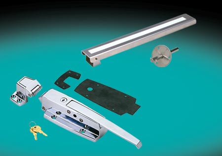 WALK-IN LATCH ASSEMBLY