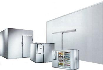 Walk-in Freezers. Indoor. WxLxH:  8'x8'x7' 7