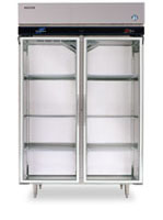 Refrigerators, Glass, 2 Doors RH2-SSB-GD
