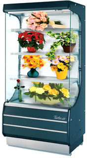 Floral Open Display Case, TOM-40F