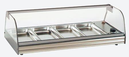 Compact Counter-Top Heated Display Merchandiser HC-4S