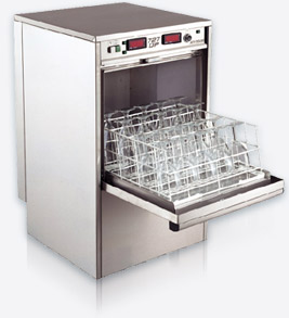 Deluxe UnderCounter Cup & Glass Washer 727 High-Temp