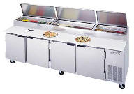 Refrigerated Pizza Prep Table DP119