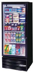 Glass Swing 1 Door Reach-in Refrigerated Merchandiser MT12-1-B