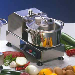Stainless steel Bowl Cutter C 4 VV; Electrical 110/60 - Hp 0.5