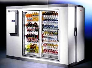 Gl Doors For Display Coolers Walk In